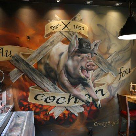 Au Cochon Fou Restaurant RestoMontreal