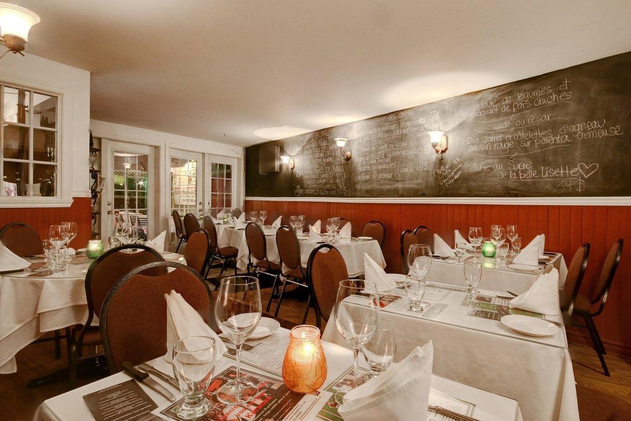 Trattoria Casa Rinacchio - Restaurant Cuisine Italienne Sainte-Rose, Laval