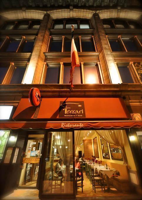 Ferrari Italian Restaurant Downtown Montreal