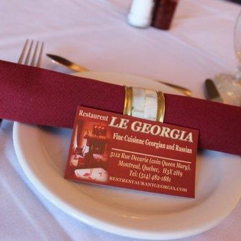Le Georgia Restaurant RestoMontreal