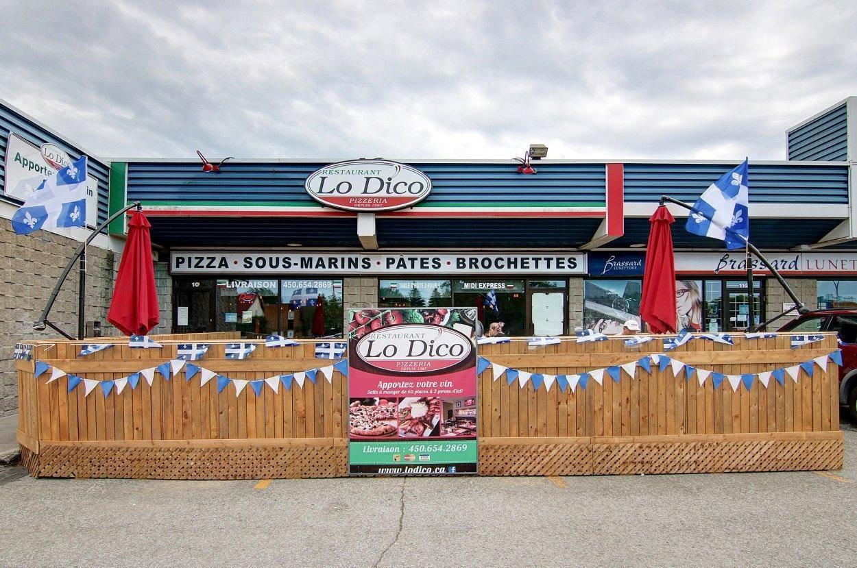 Lo Dico - Restaurant Cuisine Pizza Repentigny, Lanaudière (Rive-Nord)