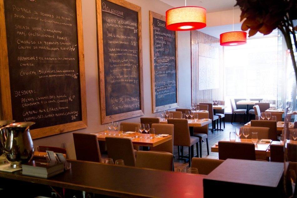 Madre sur fleury restaurant montr al qc restomontreal - Cuisine moleculaire montreal ...