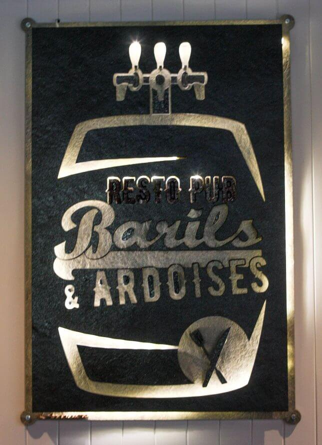 Pub Barils & Ardoises - Prévost, Laurentians (North Shore) - Burgers Cuisine Restaurant