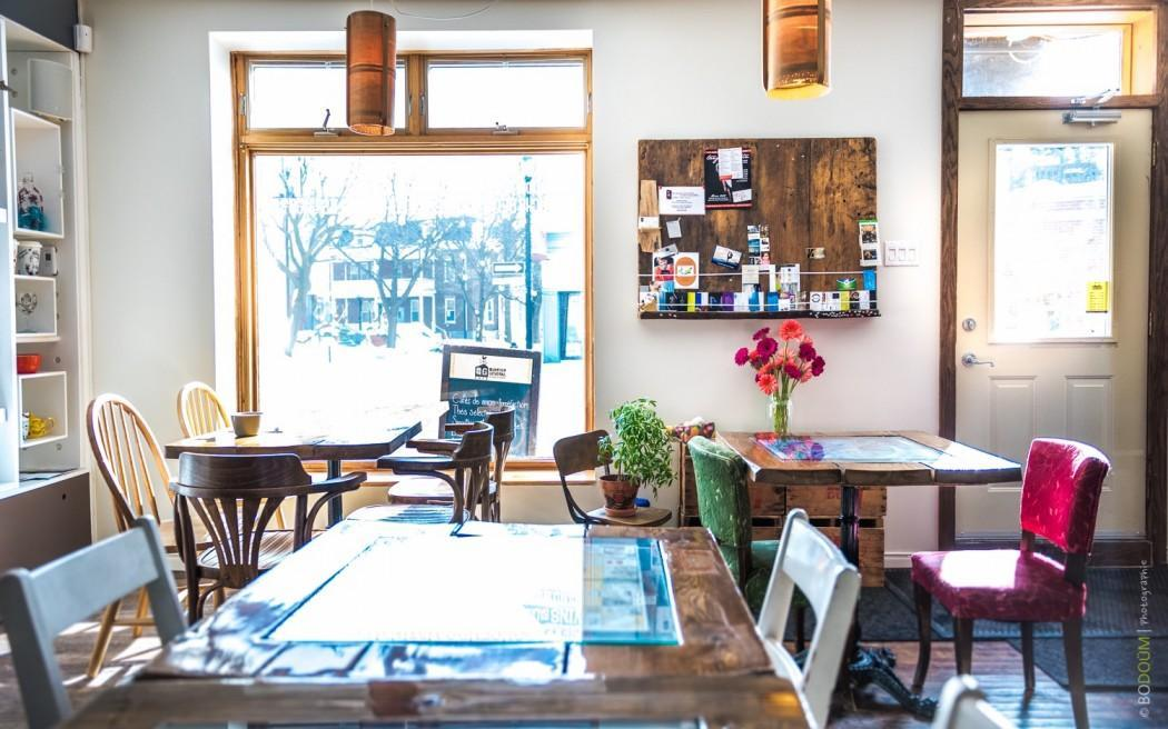 Quartier Général du Vieux La Prairie - Restaurant Cuisine Café La Prairie, Rive-Sud (Montréal)