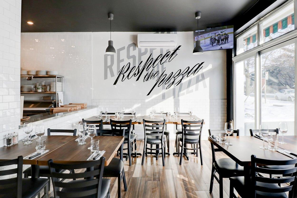 Station Pizza Moderne - Restaurant Cuisine Italienne Ahuntsic-Cartierville, Montréal