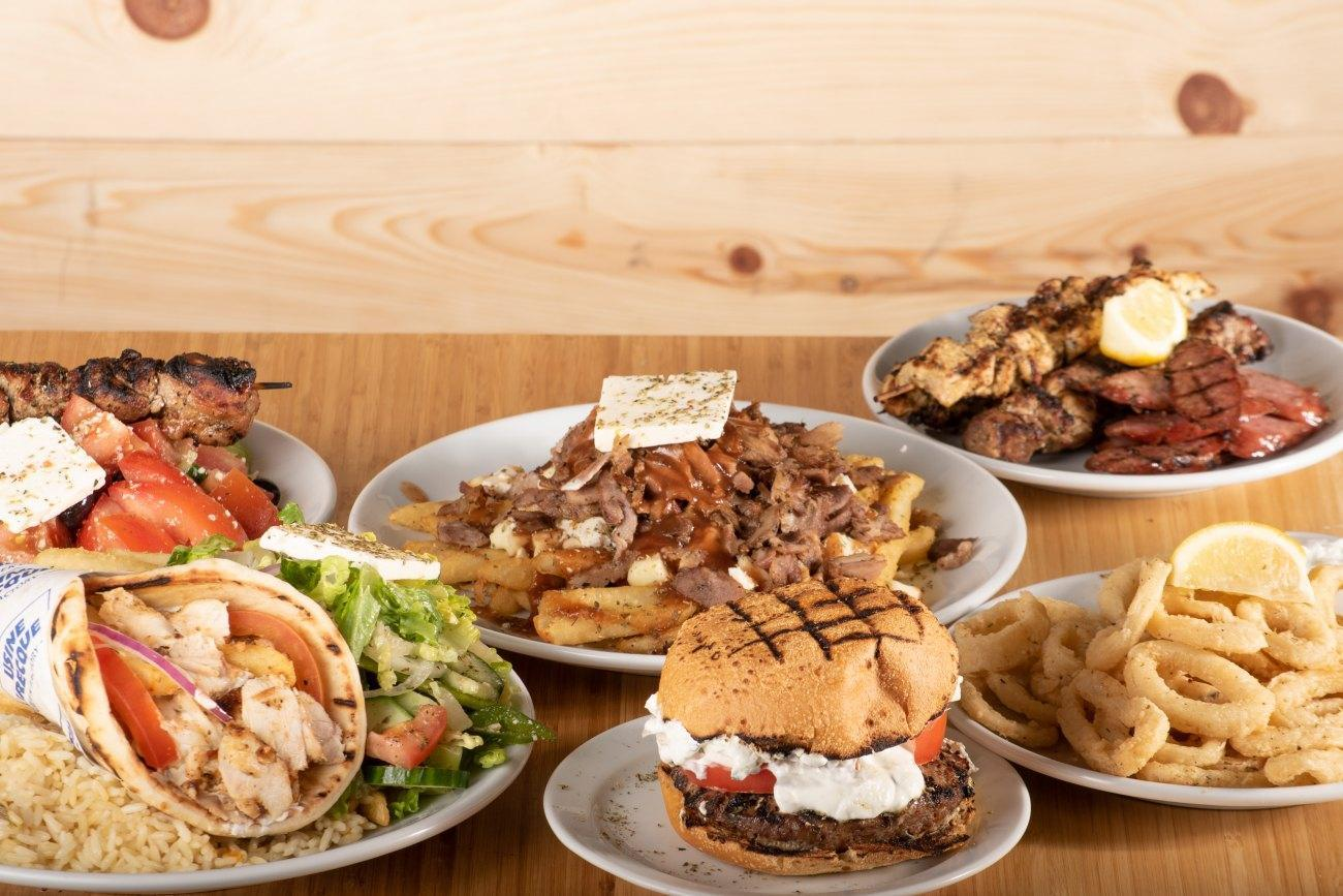 Meilleur restaurant grec de Montréal et les environs - Gyro, Pita, Souvlaki